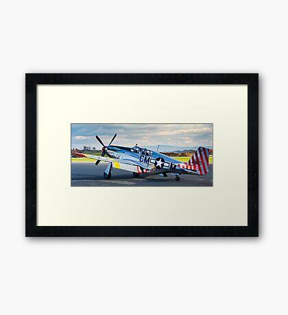 P-51 Mustang Betty Jane Framed Print