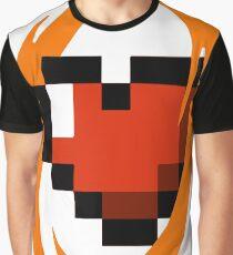 Portal Lover ! Orange Graphic T-Shirt
