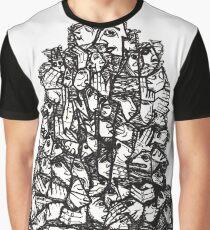 Towering Human Nature Graphic T-Shirt