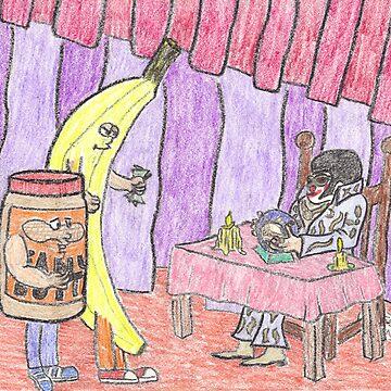 Clownvis The Fortune Teller by DrewSomervell