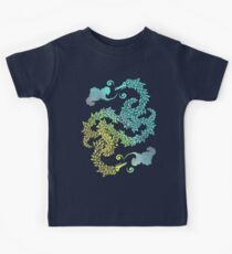 Dragons Blow | Chinese Dragon Yin Yang Kids Clothes
