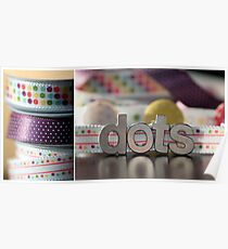Dotty Diptych Poster
