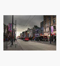 Entertainment street Photographic Print