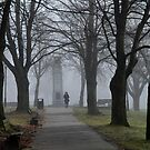 Foggy Day - North Vancouver by jadennyberg