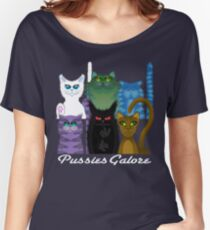 PUSSIES GALORE Women's Relaxed Fit T-Shirt