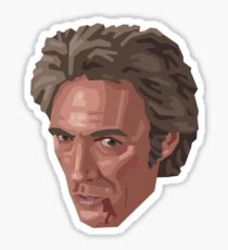 Bare Fisted Clint Sticker