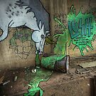 Unicorns Drink Absinthe Too by Reg  Lyons