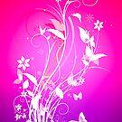 Bright butterfly by Amanda-Jane Snelling