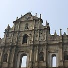 The Ruins of St. Paul's, Macau by 3rdeyelens