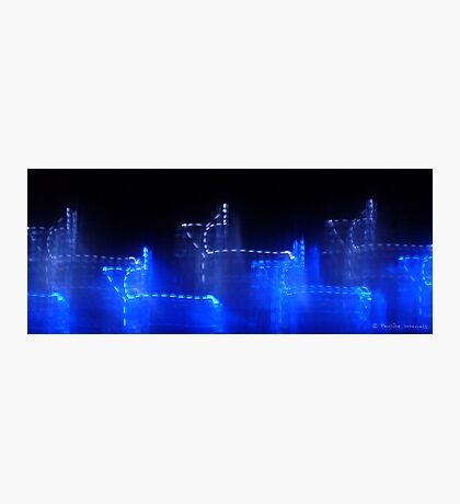 Night time blues II Photographic Print