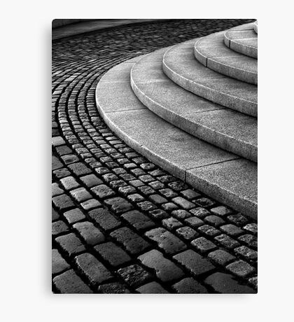 Setts on the Law Canvas Print