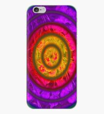 The fiery glow iPhone Case