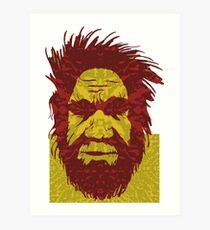 Aborigine. Art Print