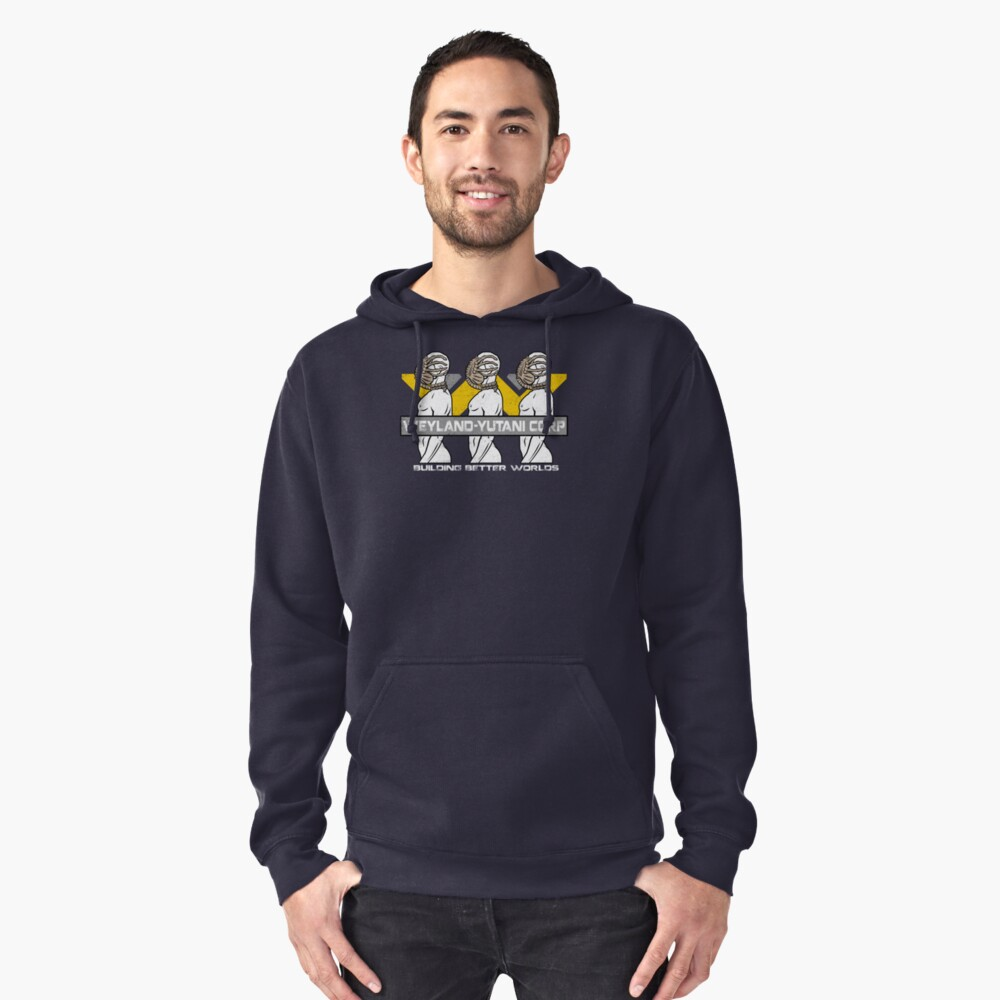 Building Better Worlds Pullover Hoodie Front