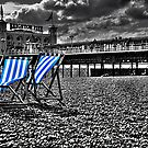 Deck chairs & Pier by andyw