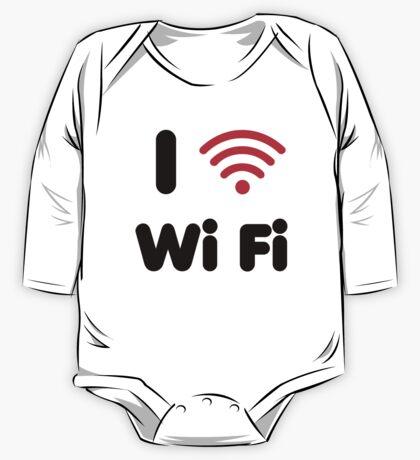 I Heart Wi Fi Kids Clothes