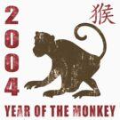 Year of The Monkey 2004 Chinese Zodiac Monkey 2004 by ChineseZodiac