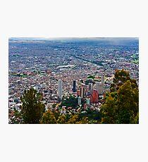 Bogota, Columbia. Photographic Print