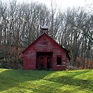 Little Red School House by Jamie  Armbruster