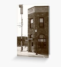 Munising, Michigan - City Hall Greeting Card