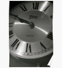 Clock face Poster