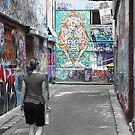 Melbourne Street Art by Bami