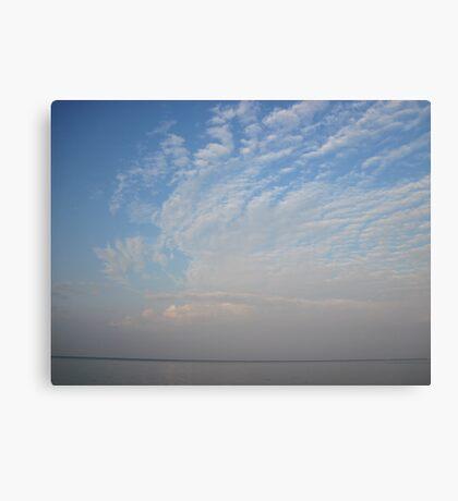 Guardian Angel Clouds Canvas Print