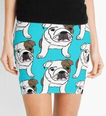 English bulldog Mini Skirt
