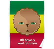 All have a soul of a lion Poster