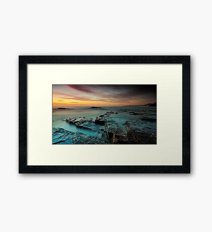 The Plateau Framed Print