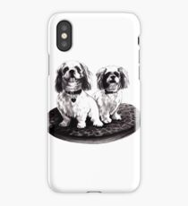 shih tzu dogs - clothing, stickers and iPhone case iPhone Case/Skin