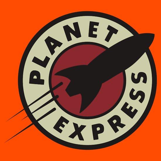 TShirtGifter presents: planet express - black // FUTURAMA T-Shirt