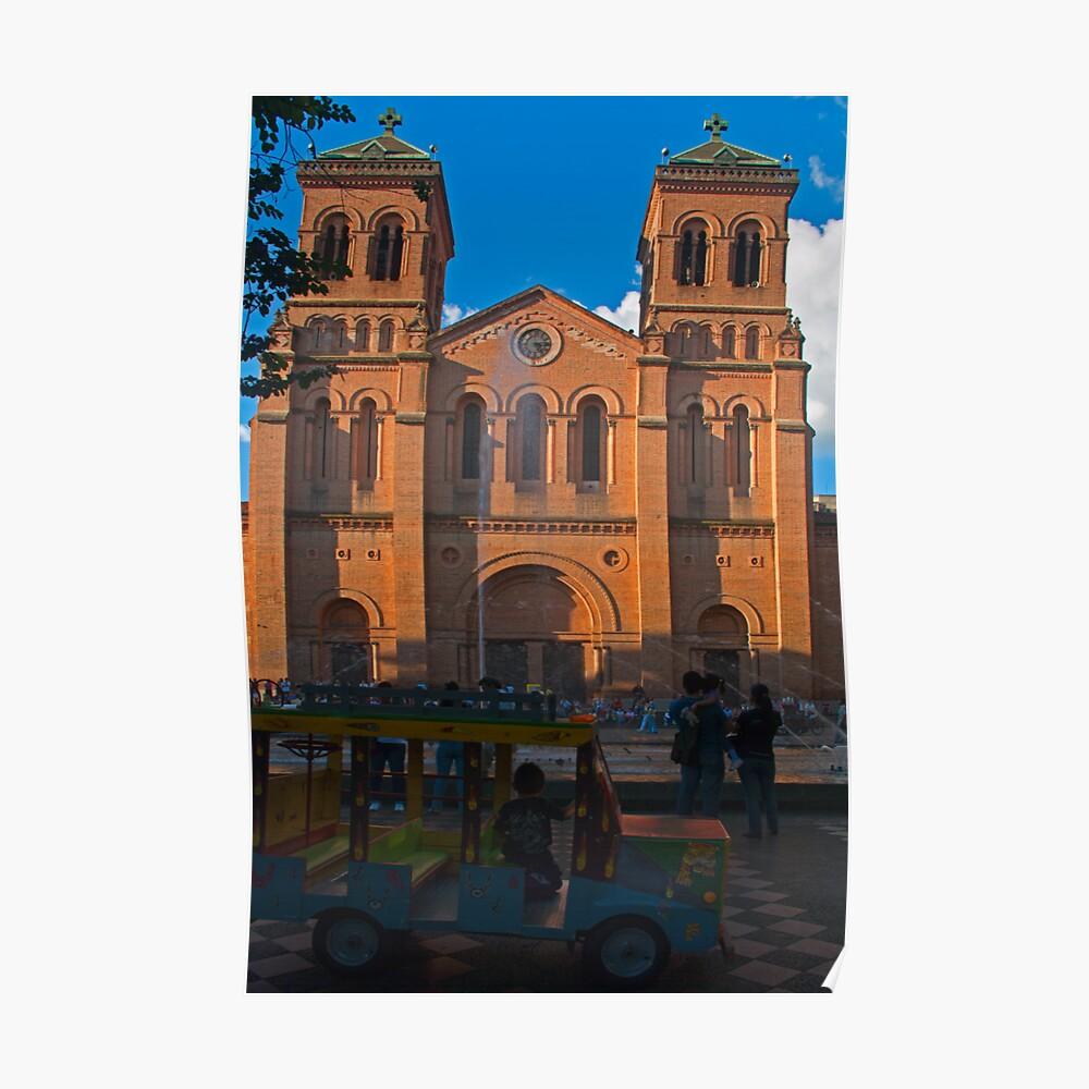 Medellin Cathedral. Poster
