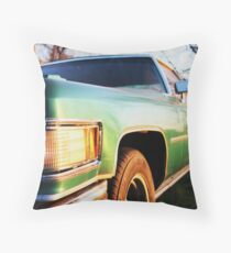 Deville at Sunset Throw Pillow