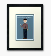 """Ben Wyatt: """"Municipal Bond"""" Framed Print"""