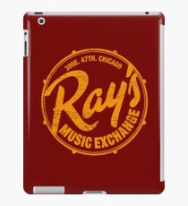 Ray's Music Exchange (worn look) iPad Case/Skin