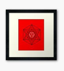 Dodecahedron special Framed Print