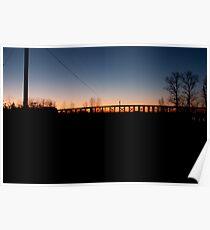 Bridge on Highway 99 Poster