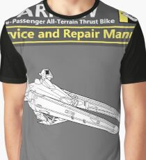 Sparrow Service and Repair Manual Graphic T-Shirt