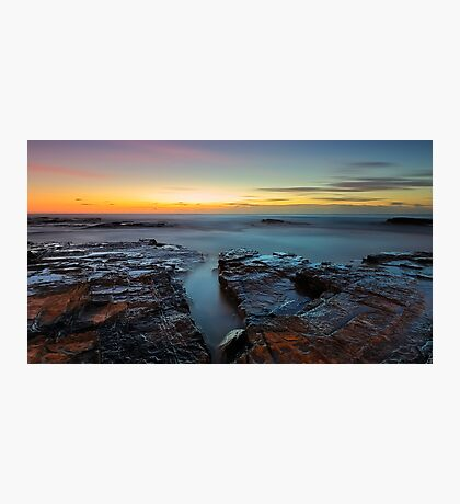 Red Rock Gully Photographic Print
