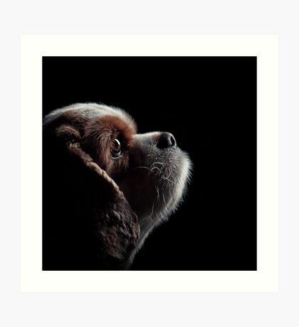 Pet Profile Art Print