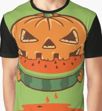 PUMPKIN AND WATERMELON Graphic T-Shirt
