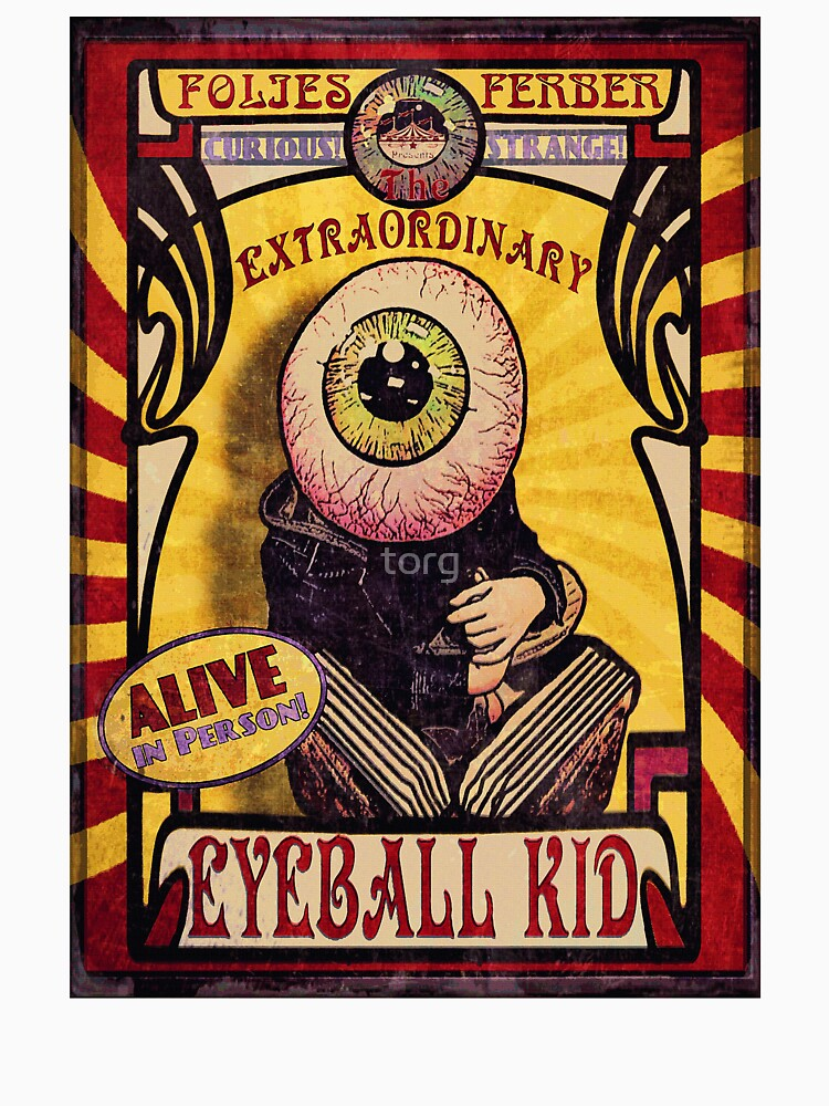 The Extraordinary Eyeball Kid: Sideshow Poster de torg
