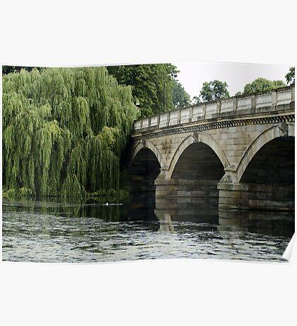 Bridge Over the Serpentine Poster