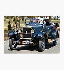 Morris Empire Oxford 1927 Photographic Print