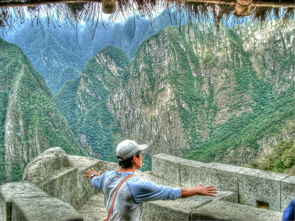 Connecting With the Universe - Machu Picchu, Peru by Edith Reynolds