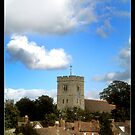 Aylesford Village and Church by James D
