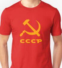 cccp russia communism  hammer and sickle Unisex T-Shirt