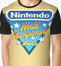 Nintendo World Championships 2015 Logo Graphic T-Shirt