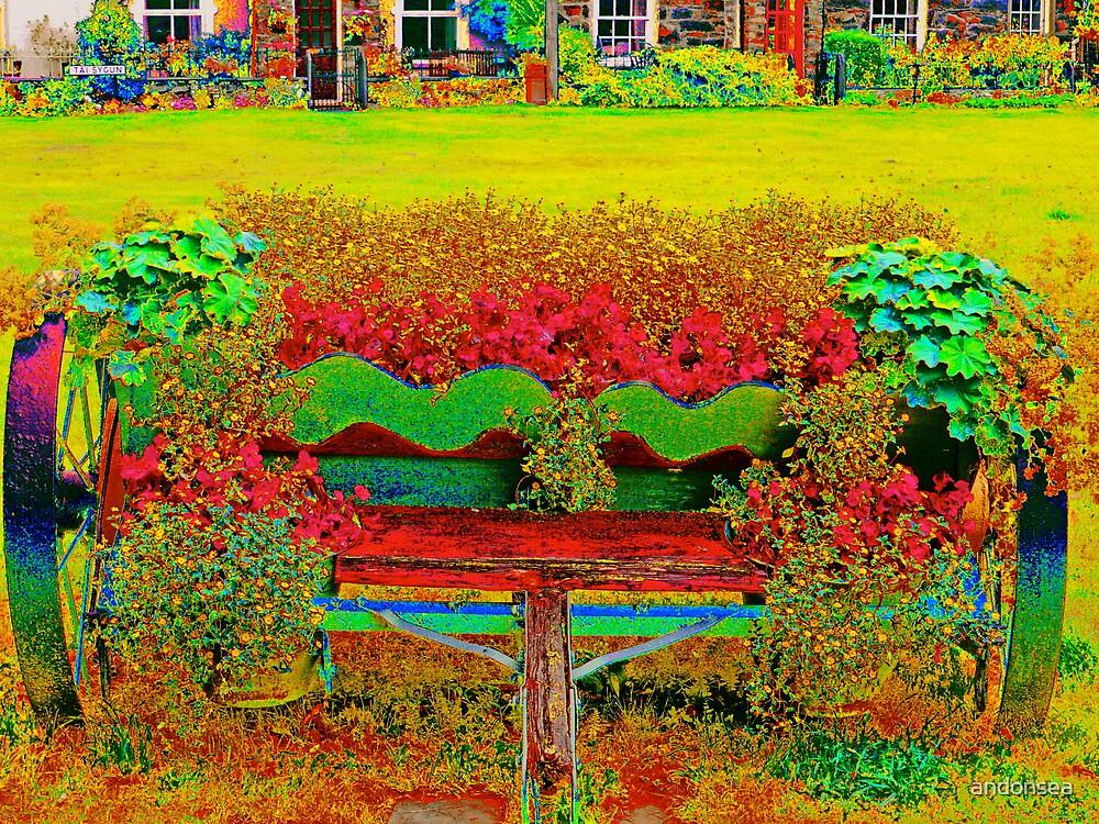 Flower Wagon - Beddgelert by andonsea